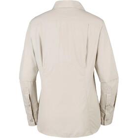 Columbia Silver Ridge 2.0 Maglietta a maniche lunghe Donna, beige